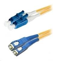 Duplexní patch kabel SM 9/125, OS2, LC-SC, LS0H, 3m