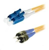 Duplexní patch kabel SM 9/125, OS2, LC-ST, LS0H, 2m