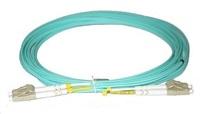 Duplexní patch kabel MM 50/125, OM3, LC-LC, LS0H, 10m