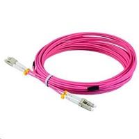 Duplexní patch kabel MM 50/125, OM4, LC-LC, LS0H, 1m