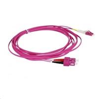 Duplexní patch kabel MM 50/125, OM4, SC-LC, LS0H, 2m