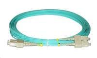 Duplexní patch kabel MM 50/125, OM3, SC-SC, LS0H, 15m