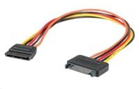 Roline kabel napájecí interní prodlužovací SATA, 30cm