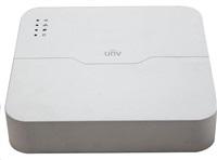Uniview NVR, 8 kanálů, H.265, 1x HDD (max.8TB), 8xPoE (max.108W), HDMI, 2x USB 2.0, audio, ONVIF