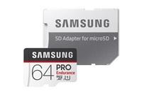Micro SDXC 64GB Samsung PRO endurance + SD adaptér