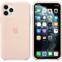 iPhone 11 Pro Max Silicone Case - Pink Sand