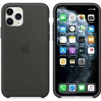 iPhone 11 Pro Max Silicone Case - Black