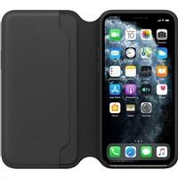 iPhone 11 Pro Max Leather Folio - Aubergine