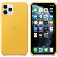 iPhone 11 Pro Max Leather Case - Meyer Lemon