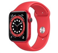 Apple Watch Series 6 GPS, 40mm PRODUCT(RED) hliníkové pouzdro + PRODUCT(RED) sport řemínek