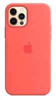 Apple iPhone 12/12 Pro Silicone Case with MagSafe - Pink Citrus