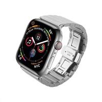 COTEetCI ocelový pásek pro Apple Watch 38 / 40mm stříbrný