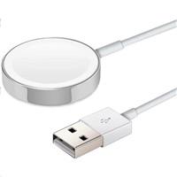 COTEetCI magnetická nabíječka pro Apple Watch 2m bílá