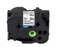 WECARE páska pro BROTHER  TZE-261, Black/White, 36mm x 8m (TZE261)