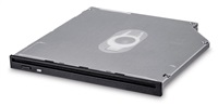 HITACHI LG - interní mechanika DVD-W/CD-RW/DVD±R/±RW/RAM/M-DISC GS40N, Slim, 9.5 mm Slot, Black, bulk bez SW