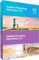 Photoshop Elem/Premiere Elem 2021 WIN CZ FULL BOX