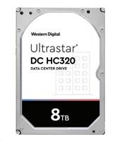 Western Digital Ultrastar® HDD 8TB (HUS728T8TAL5204) DC HC320 3.5in 26.1MM 256MB 7200RPM SAS 512E SE P3 (GOLD SAS)