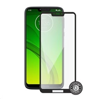Screenshield MOTOROLA Moto G7 Power XT1955 Tempered Glass protection (full COVER black)