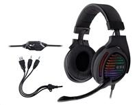 TRACER herní sluchátka s mikrofonem GAMEZONE Aligator RGB LED