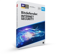 Bitdefender Internet Security - 3PC na 1 rok- elektronická licence do emailu