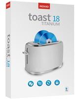 Roxio Toast Titanium 18 ML Mini Box, EN/DE/FR/ES/IT, Box
