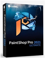 PaintShop Pro 2021 ULTIMATE Mini Box - Windows EN/DE/FR/NL/IT/ES