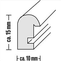 Hama rámeček dřevěný OREGON, hnědý, 20x30cm