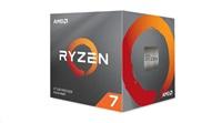 CPU AMD RYZEN 7 3800X, 8-core, 3.9 GHz (4.5 GHz Turbo), 36MB cache (4+32), 105W, socket AM4, Wraith Prism Cooler