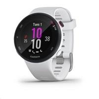 Garmin GPS sportovní hodinky Forerunner 45S Optic White