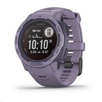 Garmin GPS sportovní hodinky Instinct Solar Orchid Optic