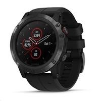 Garmin GPS sportovní hodinky fenix5X Plus Sapphire Black PRO
