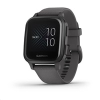 Garmin GPS sportovní hodinky Venu Sq, Slate/Gray Band