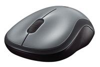 myš Logitech Wireless Mouse M185 nano, šedá
