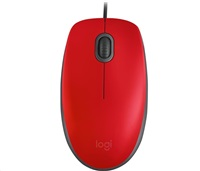 myš Logitech M110 Silent - RED - USB