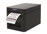 Citizen pokladní Termo tiskárna CT-E351 řezačka, Serial, USB, Black
