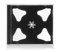 COVER IT Krabička na 2 CD 10mm jewel box + tray 10ks/bal