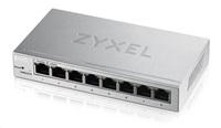 Poškozený obal - Zyxel GS1200-8 8-port Desktop Gigabit Web Smart switch, bazar