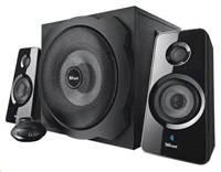 TRUST Reproduktory 2.1 Tytan Subwoofer Speaker Set, Bluetooth - black, černá