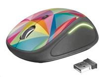 myš TRUST Yvi FX Wireless Mouse - geometrics