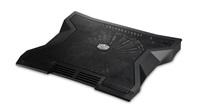 chladicí podstavec Cooler Master NotePal XL pro NTB 9-17'' black, 23cm blue led fan, 3port USB hub