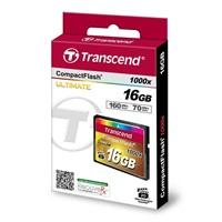 Transcend 16GB CF (1000X) paměťová karta