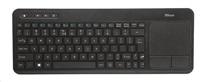 TRUST Veza Wireless Touchpad Keyboard HU