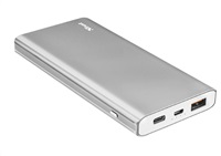 TRUST Omni Thin Metal PowerBank 10.000mAh USB-C QC3
