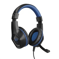 TRUST sluchátka GXT 404B RANA GAMING HEADSET PS4 blue