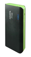 ADATA PowerBank PT100 - externí baterie pro mobil/tablet 10000mAh, černá/zelená