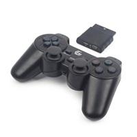 GEMBIRD gamepad JPD-WDV-01, vibrační, bezdrátový, PC/PS2/PS3, USB
