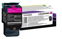 LEXMARK C544, X544 Magenta Extra High Yield Return Programme Toner Cartridge (4K)