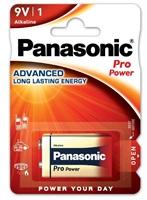 PANASONIC Alkalické baterie Pro Power 6LF22PPG/1BP 9V (Blistr 1ks)