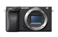 SONY Alfa 6400 fotoaparát, 24.2 MPix - tělo - černé + 16-50mm objektiv