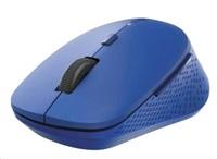 RAPOO myš M300 Silent Wireless Optical Mouse, Multi-mode: 2.4 GHz, Bluetooth 3.0 & 4.0, Blue